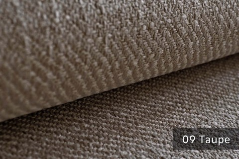 novely® exquisit DECORETTO - weicher Polsterstoff in Naturfaserlook mit ULTRA-CLEAN Technologie, schwer entflammbar | 09 Taupe