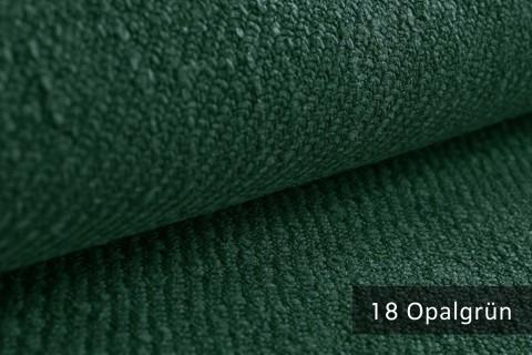 novely® exquisit DECORETTO - weicher Polsterstoff in Naturfaserlook mit ULTRA-CLEAN Technologie, schwer entflammbar | 18 Opalgrün