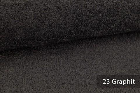 novely® exquisit DOLORES Bouclé gemütlicher Polsterstoff mit Effektgarn | 23 Graphit
