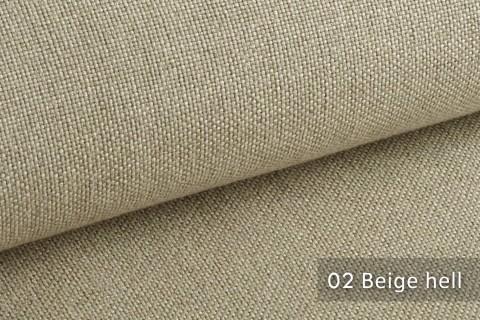 novely® ERFURT eleganter Möbelstoff ULTRA CLEAN der Extraklasse | schwer entflammbar | 02 Beige hell
