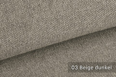 novely® ERFURT eleganter Möbelstoff ULTRA CLEAN der Extraklasse | schwer entflammbar | 03 Beige dunkel