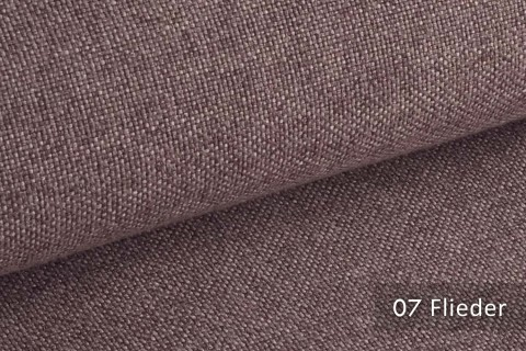 novely® ERFURT eleganter Möbelstoff ULTRA CLEAN der Extraklasse | schwer entflammbar | 07 Flieder
