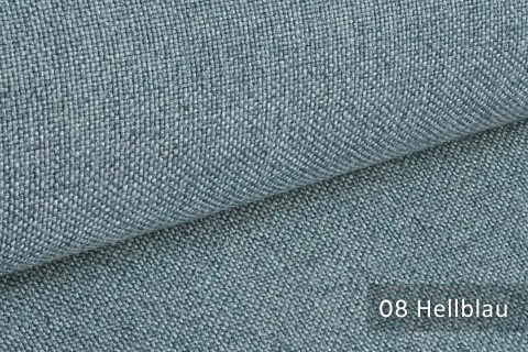 novely® ERFURT eleganter Möbelstoff ULTRA CLEAN der Extraklasse | schwer entflammbar | 08 Hellblau