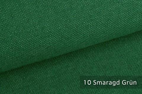 novely® ERFURT eleganter Möbelstoff ULTRA CLEAN der Extraklasse | schwer entflammbar | 10 Smaragd Grün