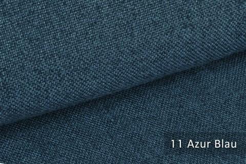 novely® ERFURT eleganter Möbelstoff ULTRA CLEAN der Extraklasse | schwer entflammbar | 11 Azur Blau