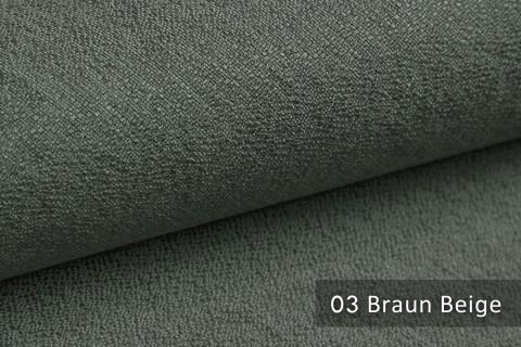 novely® GONZO robuster Möbelstoff in feiner Bouclé Optik | Ultra-Clean-Effekt | 03 Braun Beige