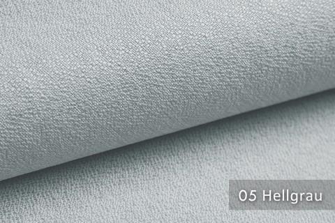novely® GONZO robuster Möbelstoff in feiner Bouclé Optik | Ultra-Clean-Effekt | 05 Hellgrau