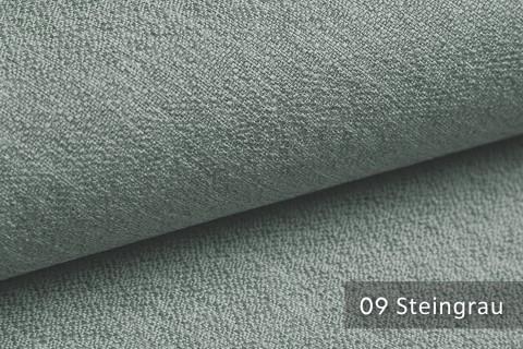 novely® GONZO robuster Möbelstoff in feiner Bouclé Optik | Ultra-Clean-Effekt | 09 Steingrau