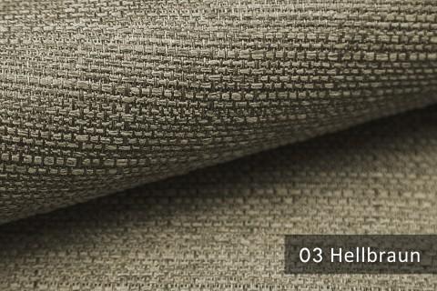 novely® GOTHA leicht grob gewebter Polsterstoff Möbelstoff | Farbe 03 Hellbraun