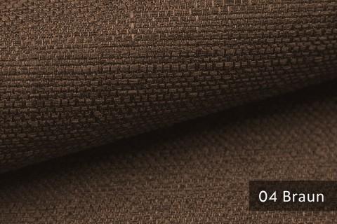 novely® GOTHA leicht grob gewebter Polsterstoff Möbelstoff | Farbe 04 Braun