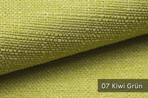 novely® GOTHA leicht grob gewebter Polsterstoff Möbelstoff | Farbe 07 Kiwi Grün