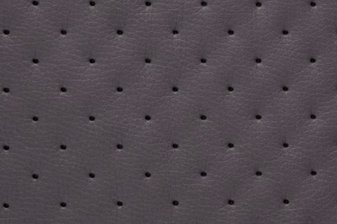 novely® SOLTAU Kunstleder 3-LAGIG gesteppt kaschiert | Volumen Polsterstoff | PUNKTE Möbelstoff Premium | 20 Graphit