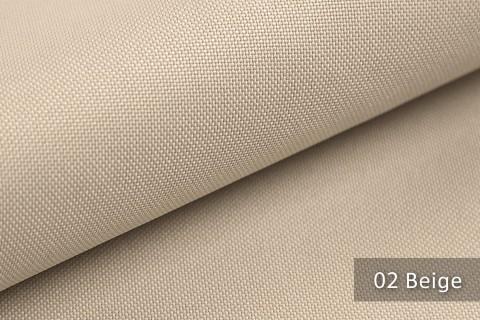 novely® HANAU UNI Polsterstoff | Möbelstoff | Farbe 02 Beige