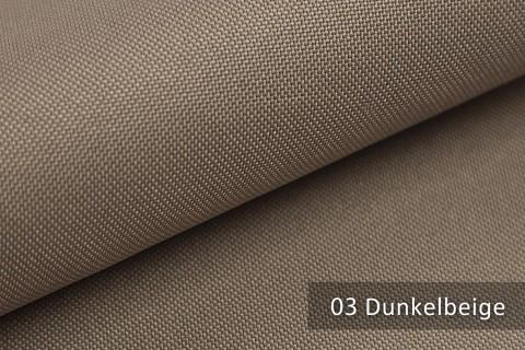 novely® HANAU UNI Polsterstoff | Möbelstoff | Farbe 03 Dunkelbeige