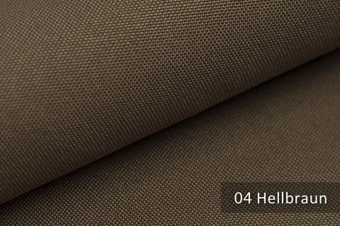 novely® HANAU UNI Polsterstoff | Möbelstoff | Farbe 04 Hellbraun