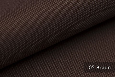 novely® HANAU UNI Polsterstoff | Möbelstoff | Farbe 05 Braun