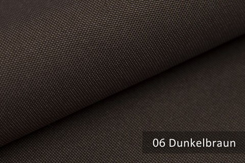 novely® HANAU UNI Polsterstoff | Möbelstoff | Farbe 06 Dunkelbraun