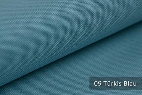 novely® HANAU UNI Polsterstoff | Möbelstoff | Farbe 09 Türkis Blau