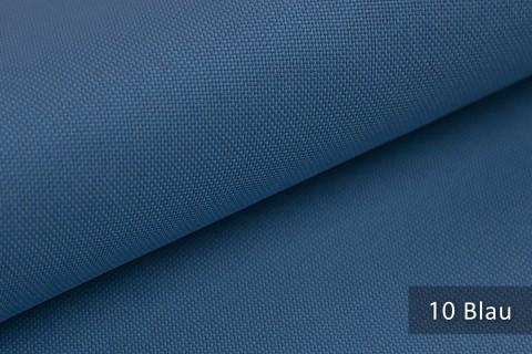 novely® HANAU UNI Polsterstoff | Möbelstoff | Farbe 10 Blau