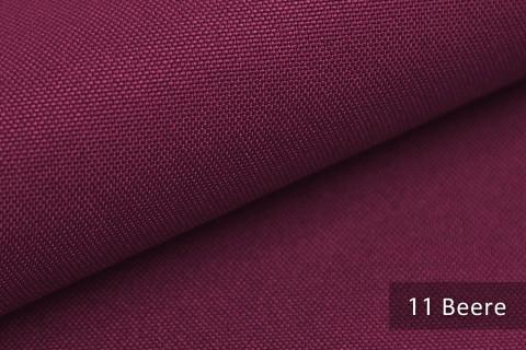 novely® HANAU UNI Polsterstoff | Möbelstoff | Farbe 11 Beere