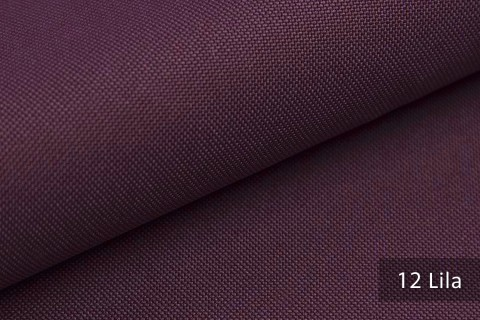 novely® HANAU UNI Polsterstoff | Möbelstoff | Farbe 12 Lila