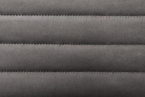 novely® HANAU UNI Webstoff | 3-LAGIG gesteppt kaschiert | Volumen Polsterstoff | Streifen 4cm 13 Grau