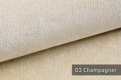 novely® ISSUM | samtig weicher Möbelstoff | Farbe 02 Champagner