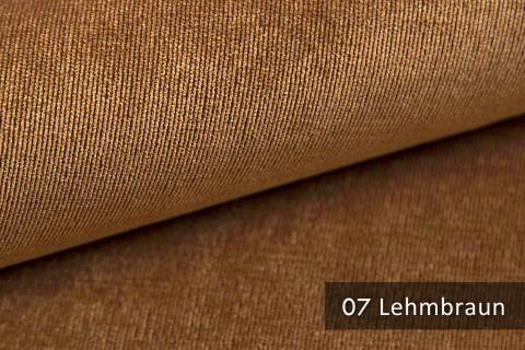 novely® ISSUM | samtig weicher Möbelstoff | Farbe 07 Lehmbraun
