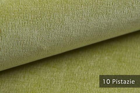 novely® ISSUM | samtig weicher Möbelstoff | Farbe 10 Pistazie