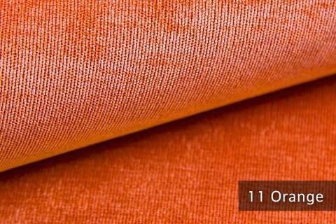 novely® ISSUM | samtig weicher Möbelstoff | Farbe 11 Orange