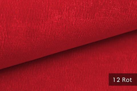 novely® ISSUM | samtig weicher Möbelstoff | Farbe 12 Rot