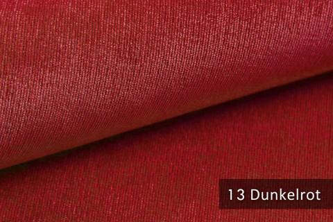 novely® ISSUM | samtig weicher Möbelstoff | Farbe 13 Dunkelrot