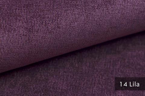 novely® ISSUM | samtig weicher Möbelstoff | Farbe 14 Lila
