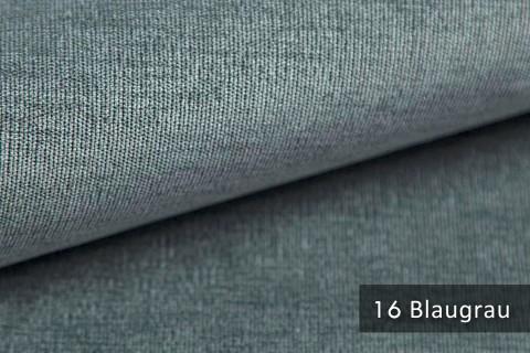novely® ISSUM | samtig weicher Möbelstoff | Farbe 16 Blaugrau
