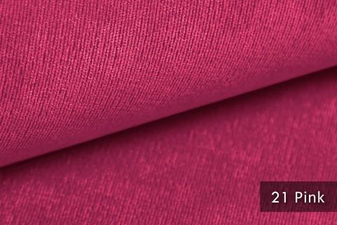 novely® ISSUM | samtig weicher Möbelstoff | Farbe 21 Pink