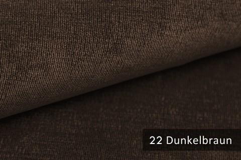 novely® ISSUM | samtig weicher Möbelstoff | Farbe 22 Dunkelbraun