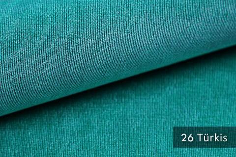 novely® ISSUM | samtig weicher Möbelstoff | Farbe 26 Türkis