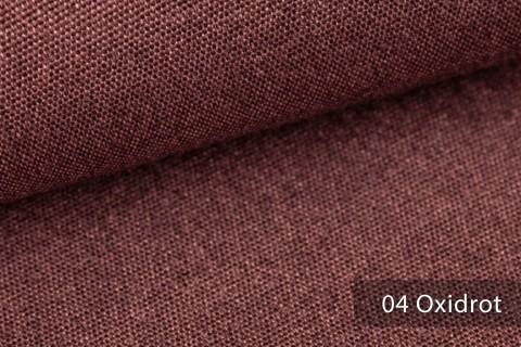 novely® JUKENAU | Melange Möbelstoff Polsterstoff | Mediterran | 04 Oxidrot