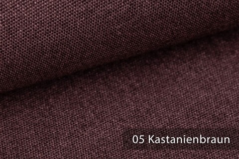 novely® JUKENAU | Melange Möbelstoff Polsterstoff | Mediterran | 05 Kastanienbraun