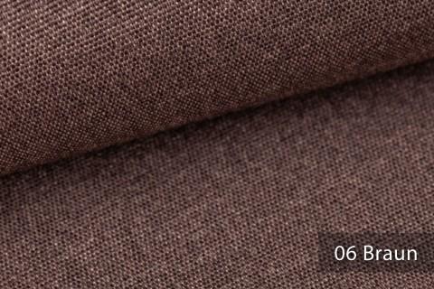 novely® JUKENAU | Melange Möbelstoff Polsterstoff | Mediterran | 06 Braun