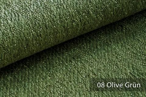 novely® KAMEN Mélange Möbelstoff dezent Perlmutt   Polsterstoff   08 Olive Grün