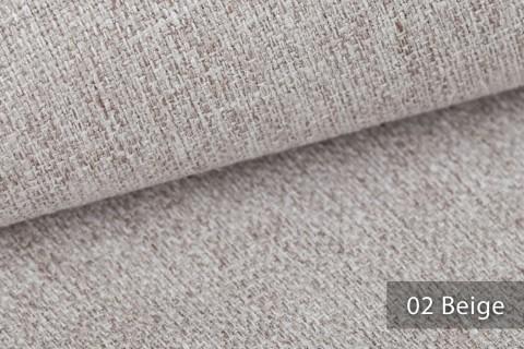 novely® KARBEN | Wollig Warm | Möbelstoff Polsterstoff | Leinen Optik | Scandi Chic Stoffe | 02 Beige