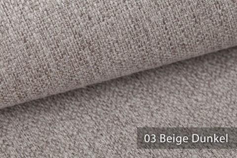 novely® KARBEN | Wollig Warm | Möbelstoff Polsterstoff | Leinen Optik | Scandi Chic Stoffe | 03 Beige Dunkel