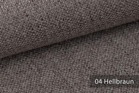 novely® KARBEN | Wollig Warm | Möbelstoff Polsterstoff | Leinen Optik | Scandi Chic Stoffe | 04 Hellbraun