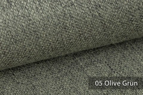 novely® KARBEN | Wollig Warm | Möbelstoff Polsterstoff | Leinen Optik | Scandi Chic Stoffe | 05 Olive Grün