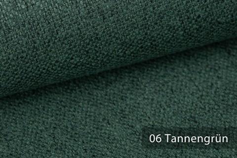 novely® KARBEN | Wollig Warm | Möbelstoff Polsterstoff | Leinen Optik | Scandi Chic Stoffe | 06 Tannengrün