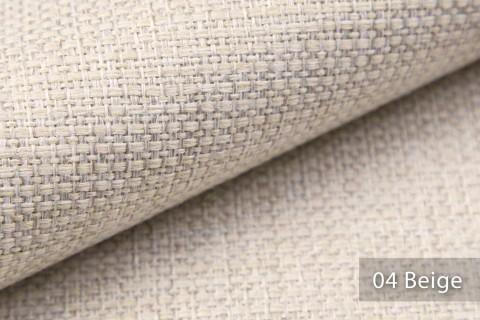 novely® KREMS melierter grob gewebter Polsterstoff in 14 modernen Farben | Farbe 04 Beige