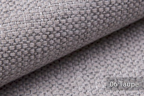 novely® KREMS melierter grob gewebter Polsterstoff in 14 modernen Farben | Farbe 06 Taupe