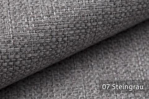 novely® KREMS melierter grob gewebter Polsterstoff in 14 modernen Farben | Farbe 07 Steingrau