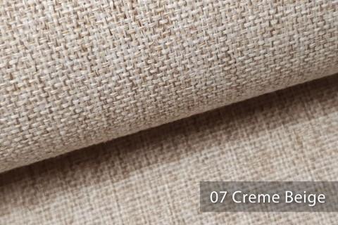 novely® LARISO | Polsterstoff | Möbelstoff | Webstoff | Struktur-Stoff | Mélange | natürlicher Look in 20 Farben | 07 Creme Beige